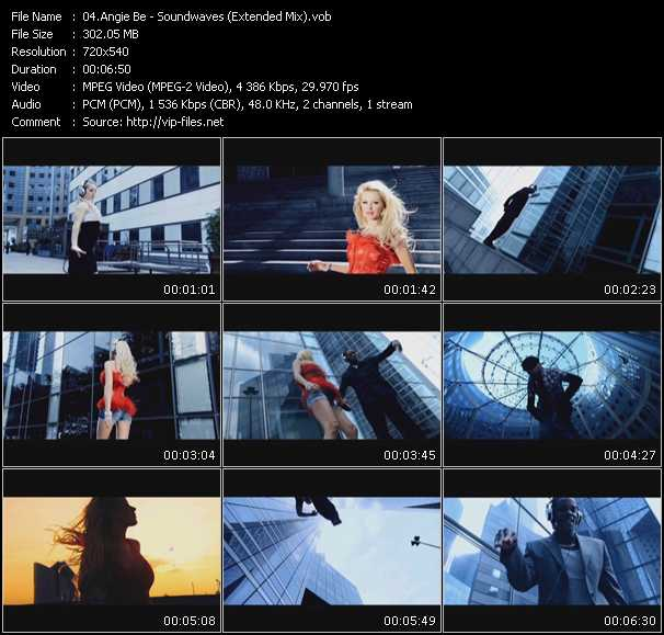 Music Video of Angie Be - Forever (Short English Version) - Download