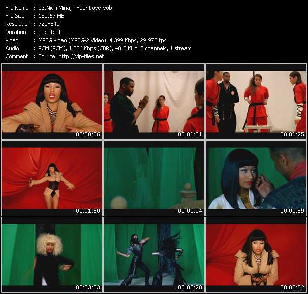 Your Love Video Song By Nicki Minaj Performing Download In Hq