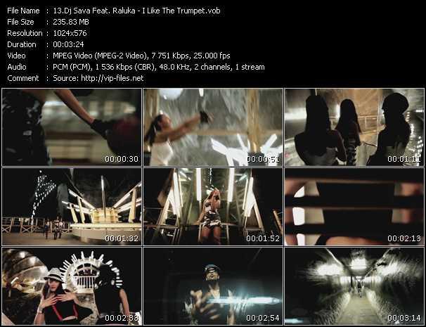 Music Video of Dj Sava - I Like The Trumpet - Download HQ Videoclip