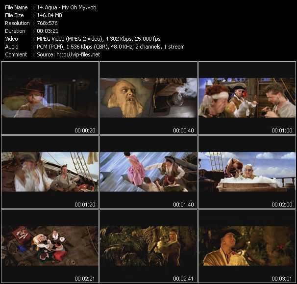 Music Video Of Aqua My Oh My Download Hq Videoclip Vob