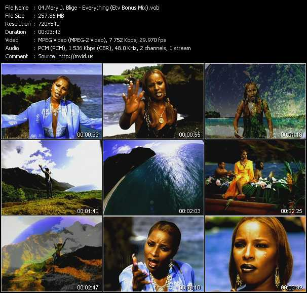 Music Video Of Mary J Blige Right Now Extended Version Download Hq Videoclip Vob