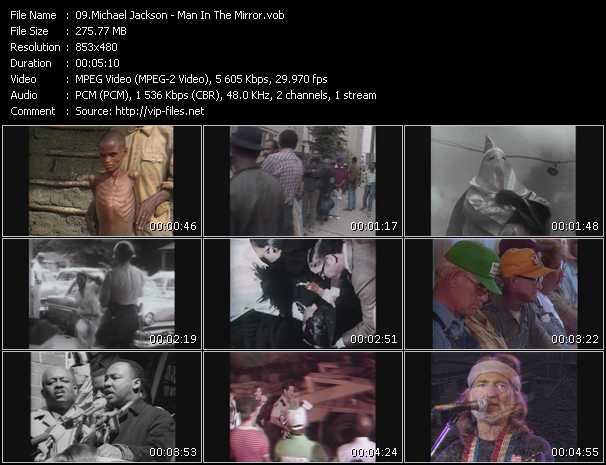 Video Song - Man In The Mirror - download in High Quality