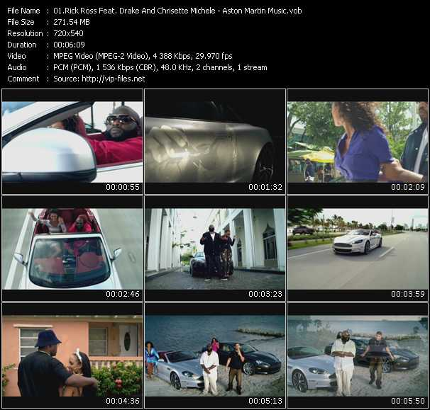 Aston Martin Music Video Song By Rick Ross Feat Drake And Chrisette Michele Performing Download In Hq