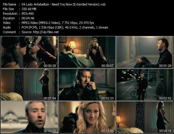 Need You Now Video Song By Lady Antebellum Performing Download In Hq