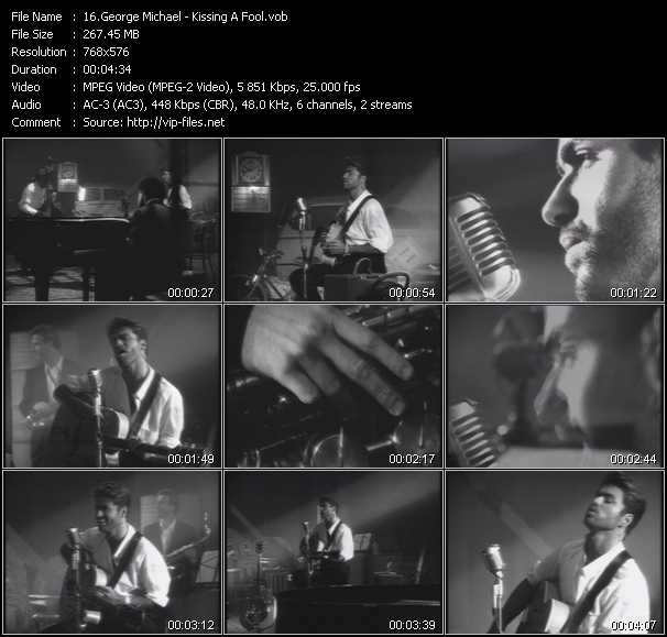 Music Video of George Michael - Monkey - Download HQ