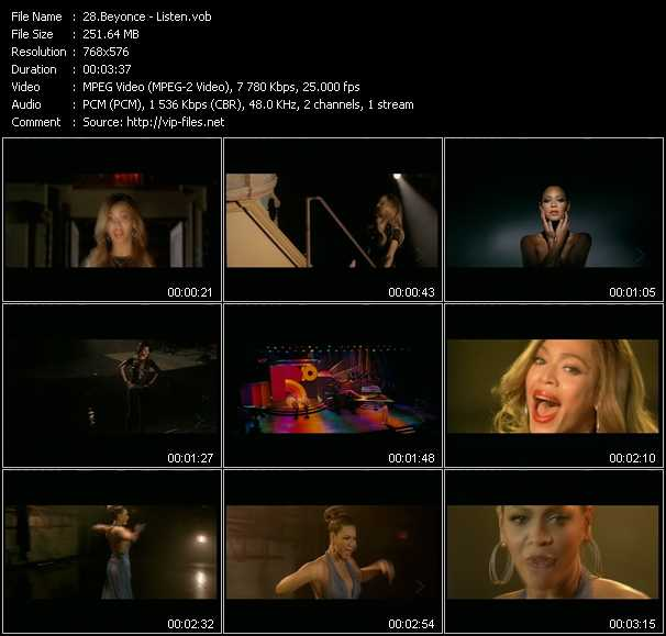 Listen Video Song By Beyonce Performing Download In Hq