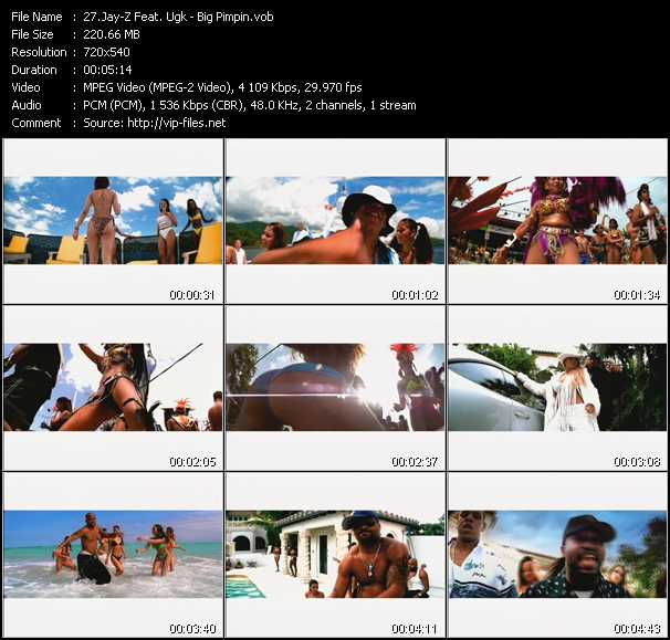 Music Video feat  UGK - We Big Mane - Download HQ Videoclip