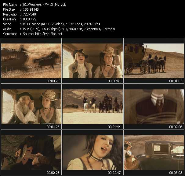 Music Video Of Wreckers My Oh My Download Hq Videoclip Vob