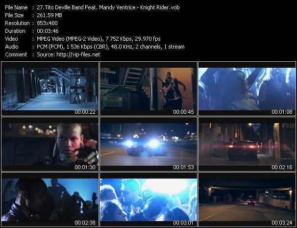 Music Video of Tito Deville Band - Knight Rider - Download