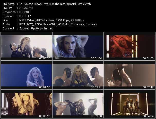 Music Video of Havana Brown - Warrior (Dave Aude Remix