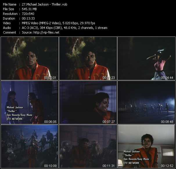 Michael Jackson Music Videos and Video Clips feat  Michael