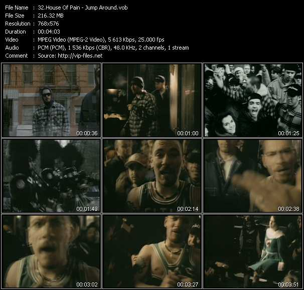 house of pain jump around video download