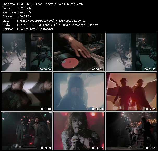 Video Song - Walk This Way - download in High Quality
