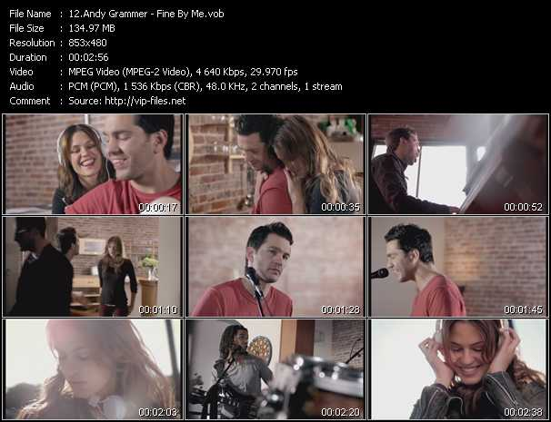 Music Video of Andy Grammer - Keep Your Head Up - Download