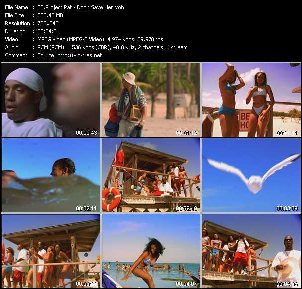 Music Video of Project Pat - Chicken Head - Download HQ Videoclip(VOB)