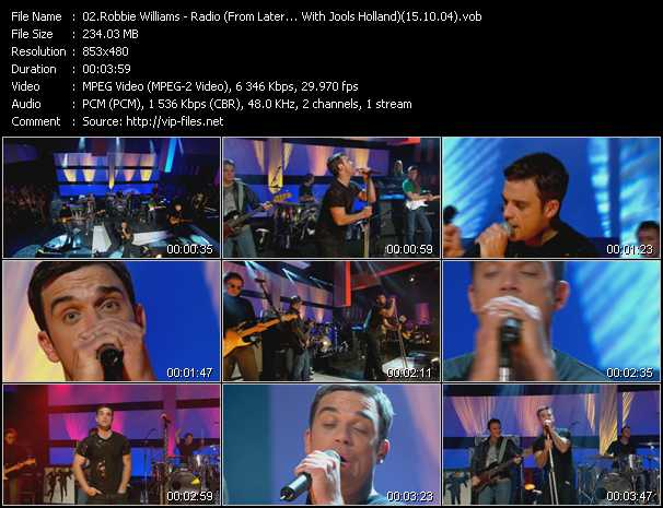 robbie williams songs free download